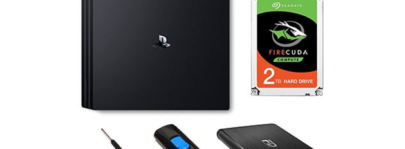 Upgrade Your PS4 with this 2TB Hybrid Hard Drive Kit and 16GB Flash Drive for $99