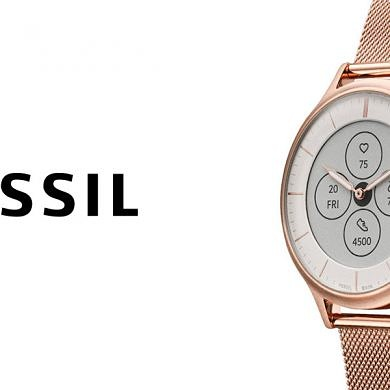 [Update: Launched in India] Fossil Hybrid HR smartwatch with an analog dial and always-on display launched for $195