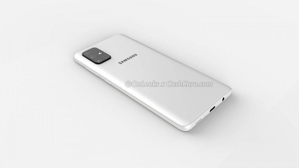 Galaxy A71 leaked renders