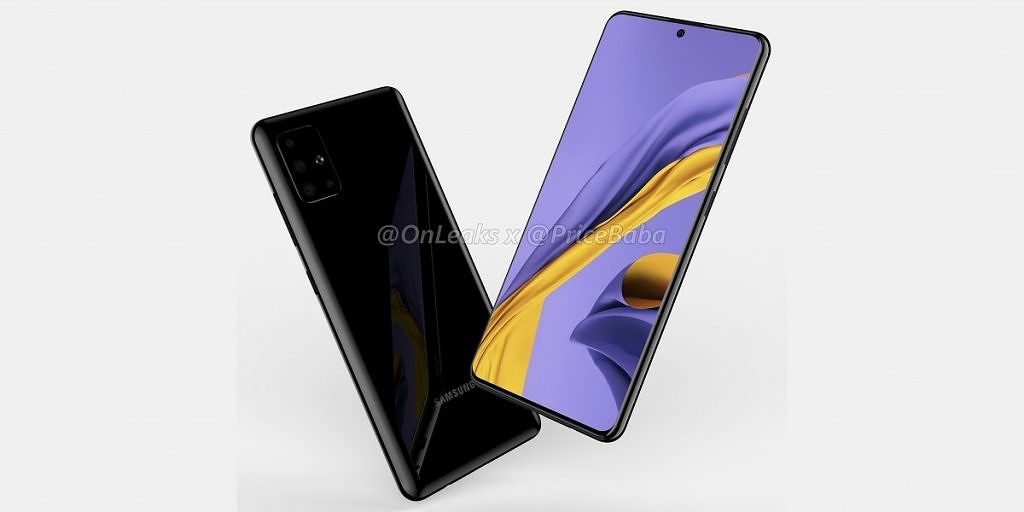 Samsung Galaxy A51 renders show off 48MP quad rear cameras and punch-hole display