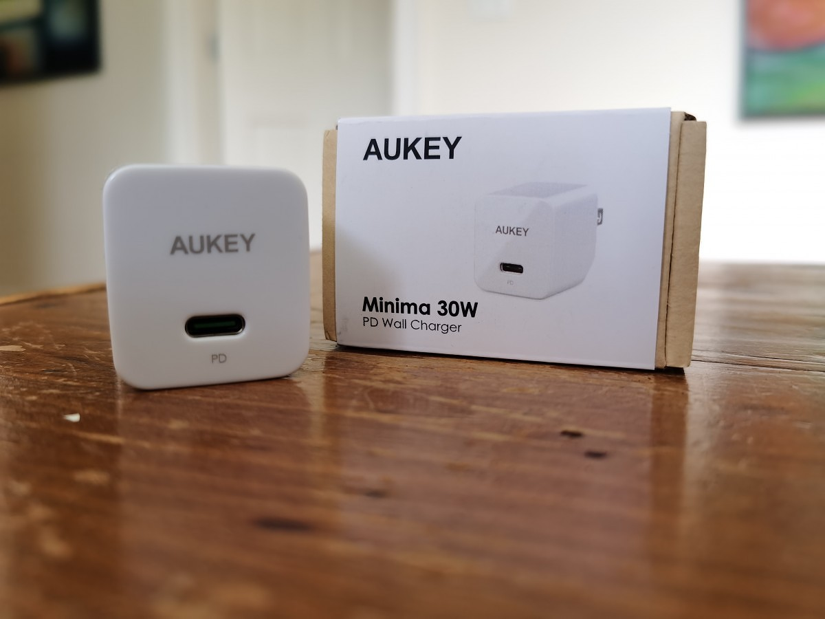 AUKEY 30W PD Wall Charger