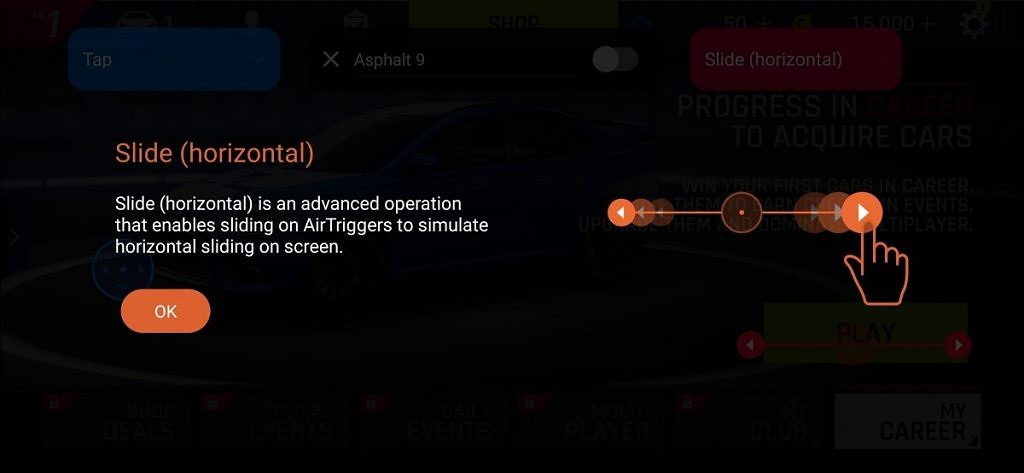 AirTrigger Gestures