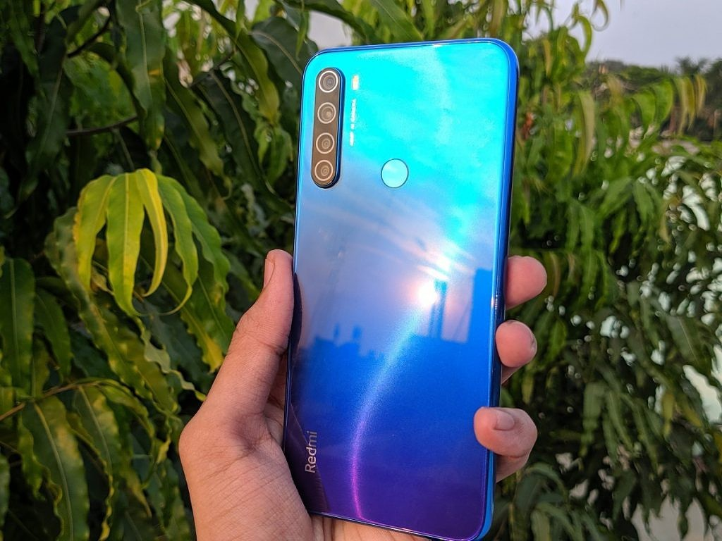 Redmi Note 8 striking design