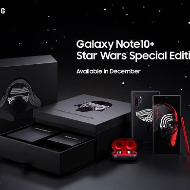 Samsung will sell a Star Wars Special Edition Galaxy Note 10+ with Galaxy Buds