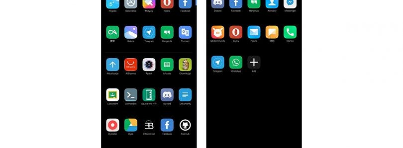 Xiaomi tests Categories in the app drawer of MIUI Launcher