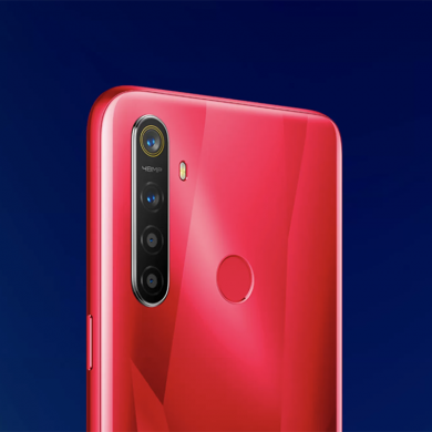 Realme 5s is a Realme 5 but with a 48MP quad camera setup and a new red color