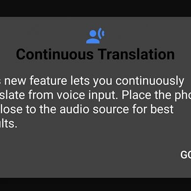 [Update: Shown Publicly] Google Translate tests a Continuous Translation mode for voice input