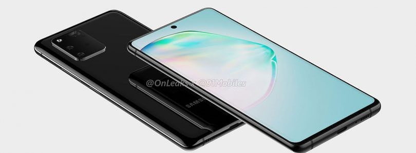 Samsung Galaxy A91/S10 Lite renders reveal triple cameras and center punch hole