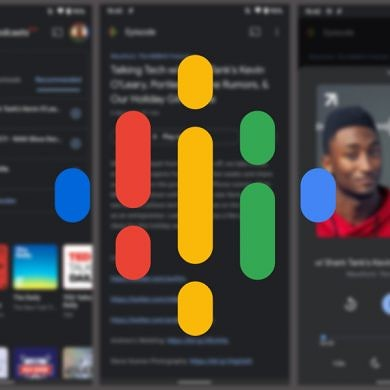 Google Podcasts gets a dark theme on Android