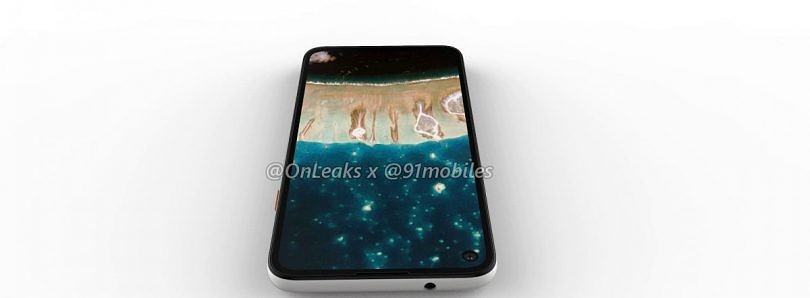 Google Pixel 4a leaked renders show off punch hole display and headphone jack