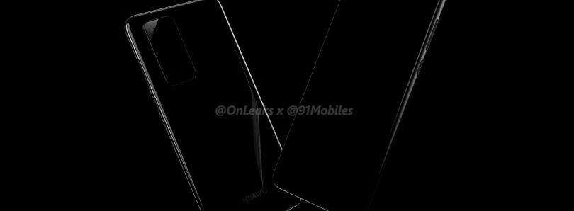 Huawei P40 and P40 Pro renders reveal flat display, large camera modules