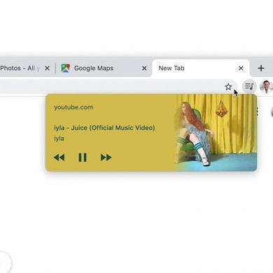 [Update: Screenshots] Google Chrome's media controls can soon be popped out into a floating overlay