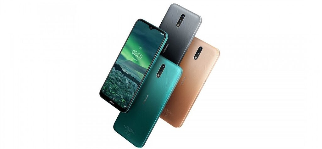 Nokia 2.3 in multiple colors