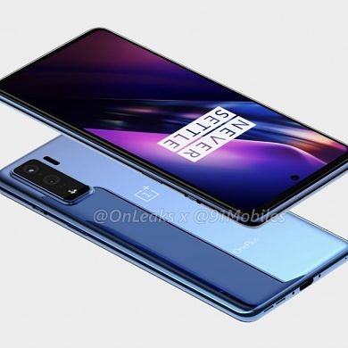OnePlus 8 Lite leaked renders show OnePlus' first mid-range phone in four years