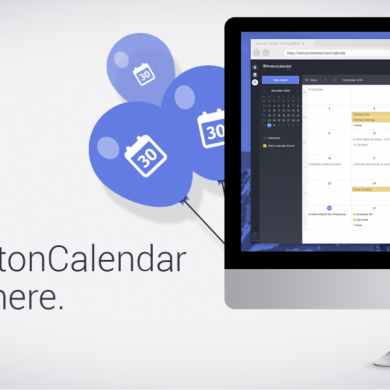 The makers of ProtonMail have released a Google Calendar alternative