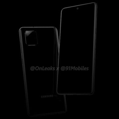 Samsung Galaxy Note 10 Lite/Galaxy A81 renders show familiar camera design and S Pen