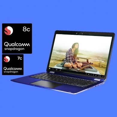 Qualcomm Announces Snapdragon 8c and 7c for Always On, Always Connected PCs