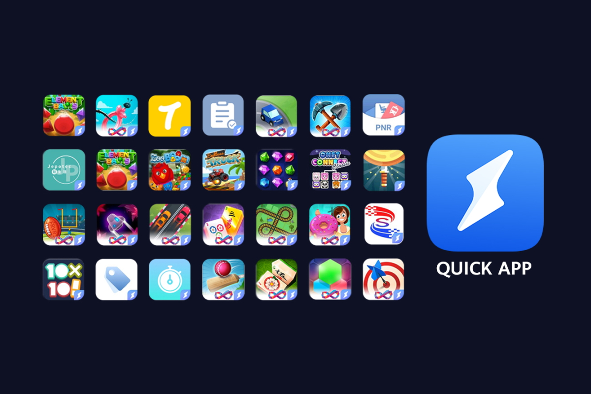 Huawei Quick Apps is Huawei's alternative to Google Instant Apps