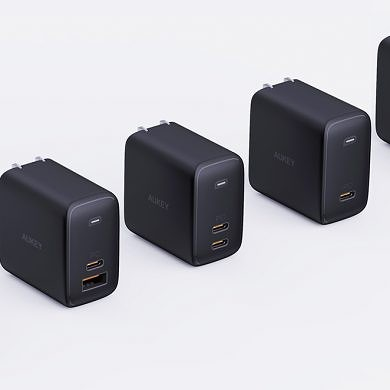 Aukey debuts Omnia series chargers with up to 100W dual-port PD at CES 2020