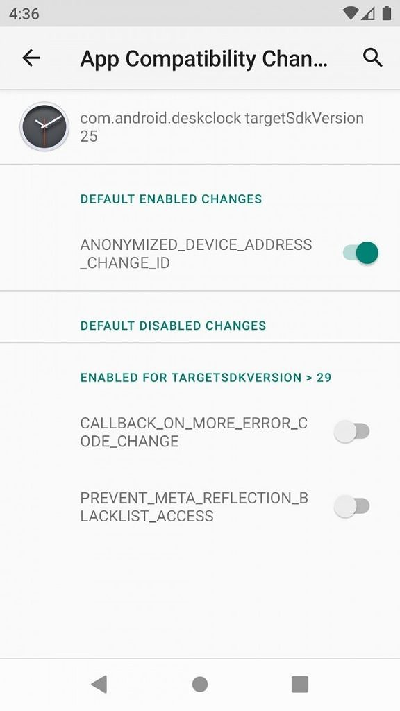 Android 11 App Compatibility Changes