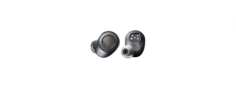 QuietPoint ATH-ANC300TW are Audio-Technica's attempt at wireless earbuds with noise cancellation