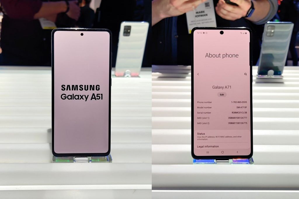 Samsung Galaxy A51 And A71 Hands On Mid Range Smartphone Winners