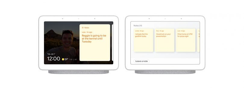 """Google Assistant gets new """"household notes"""" for Smart Displays, command scheduling, and more"""