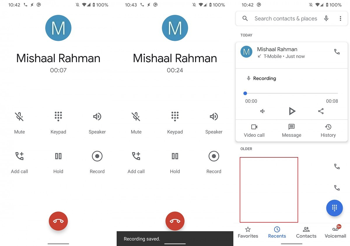 First look at the Google Phone App's Call Recording feature on the Pixel 4 - XDA Developers