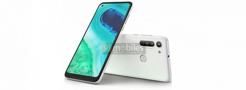 Moto G8's leaked render confirms hole-punch display, triple rear cameras, and a physical fingerprint scanner