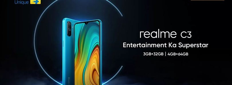 [Update: MediaTek Helio G70] Realme C3 with 5000mAh battery launching in India on February 6