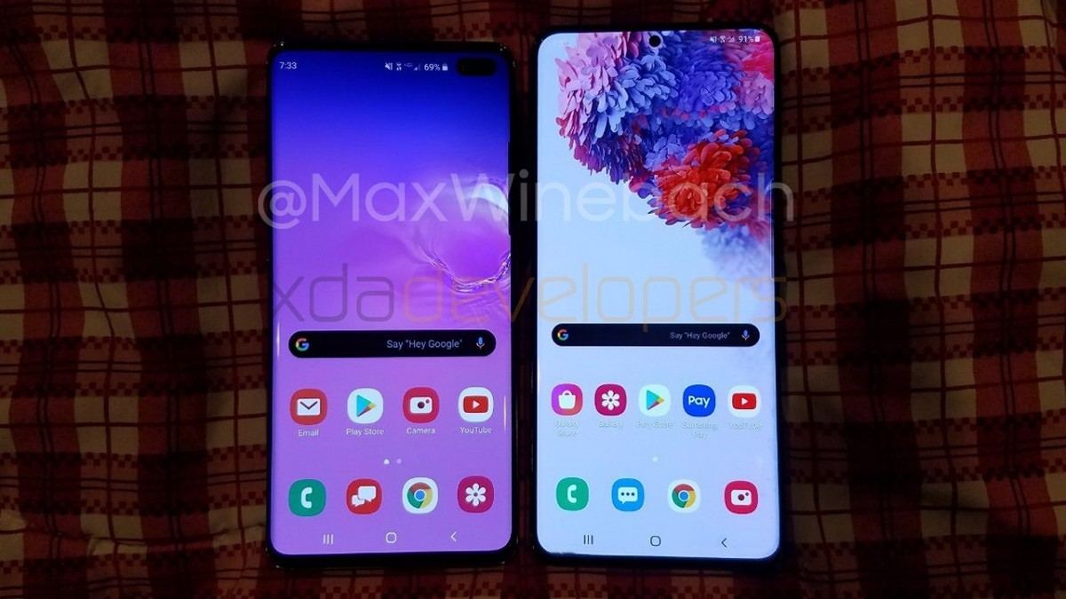 Samsung Galaxy S20+ and Samsung Galaxy S10+ - Comparison