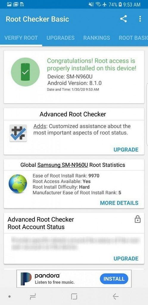 Comment rooter Samsung Snapdragon Galaxy S9 et Note 9