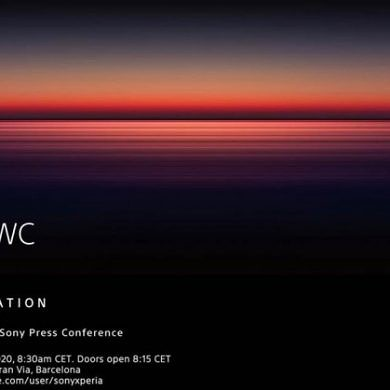 Sony sends out press invites for their MWC 2020 conference