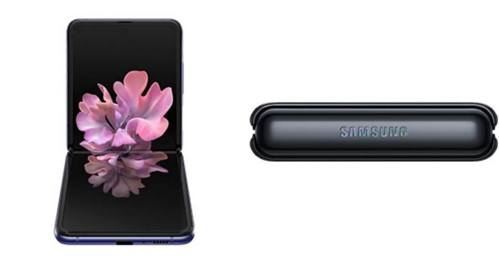Samsung Galaxy Z Flip folding