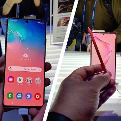 Galaxy S10 Lite and Note 10 Lite Hands-on: Samsung's Answer to OnePlus and Xiaomi
