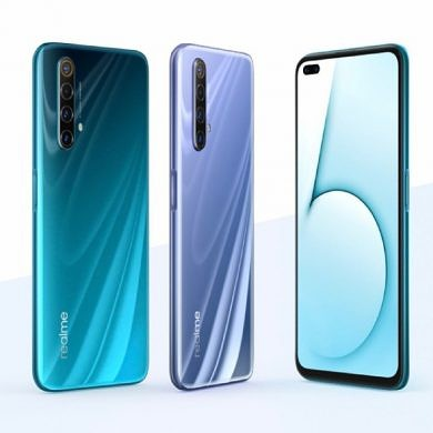 Realme X50 5G with a 120Hz dual hole-punch display, Snapdragon 765G, Realme UI launches in China