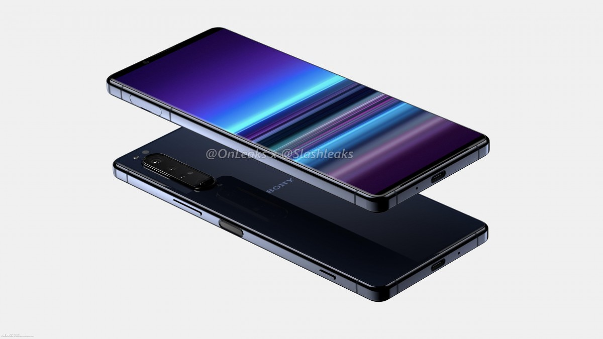 Sony Xperia 5 Plus renders shows a ToF sensor and more