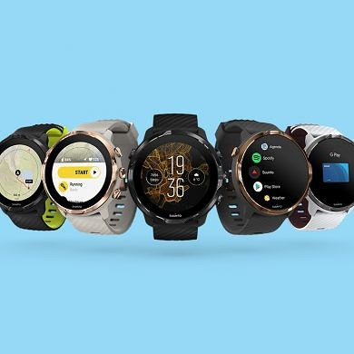 The Suunto 7 is the first Wear OS smartwatch with the Snapdragon Wear 3100's Sports mode