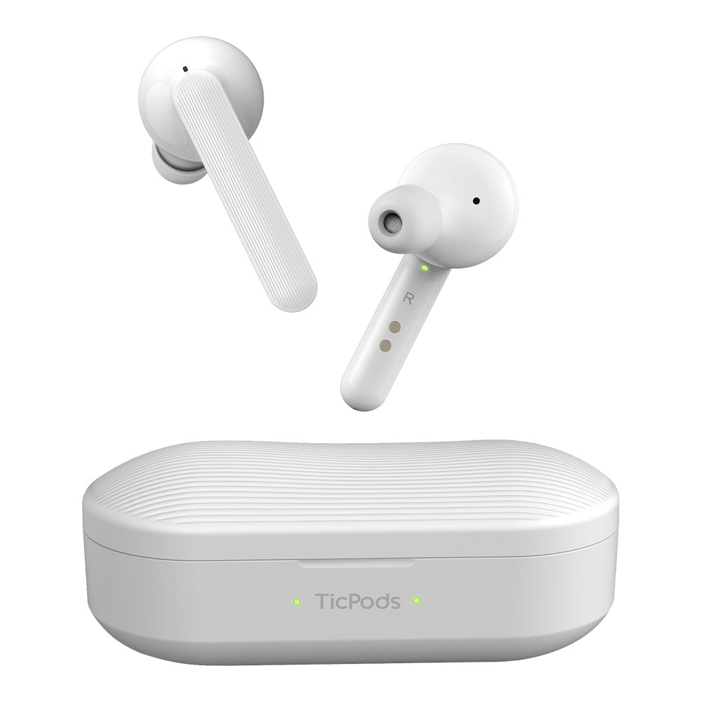 """<p>Ever since smartphones started ditching the headphone jack, competition in the wireless earbuds space has picked up. Apple's AirPods have become incredibly popular, which has led many companies to offer similar products. Mobvoi, the makers of the TicWatch Pro, released their own version, the TicPods, back in 2018. Today, the company is announcing the TicPods</p> <p>The post <a rel=""""nofollow"""" href=""""https://www.xda-developers.com/ticpods-2-pro-wireless-earbuds-voice-controls/"""">Mobvoi announces the TicPods 2 and 2 Pro wireless earbuds with voice/gesture controls and noise cancellation</a> appeared first on <a rel=""""nofollow"""" href=""""https://www.xda-developers.com/"""">xda-developers</a>.</p>"""