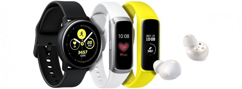 Samsung launches the Galaxy Watch Active smartwatch, Galaxy Buds earbuds, and Galaxy Fit smart band