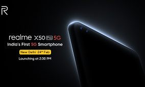 Realme is launching its flagship X50 Pro 5G phone in India with a 90Hz AMOLED display, 64MP camera, and 20X zoom