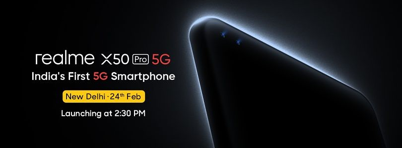 [Update: Dual Ultra-wide Selfie Cameras] Realme is launching its flagship X50 Pro 5G phone in India with a 90Hz AMOLED display, 64MP camera, and more