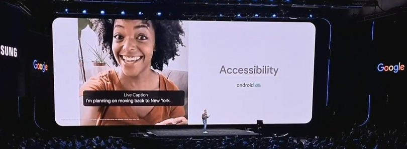 The Samsung Galaxy S20 is the first non-Pixel phone with Google's Live Caption feature