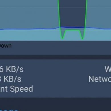 Net Speed Indicator is a free app to show your download/upload speeds in the status bar