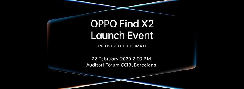 OPPO will launch the Find X2 with Sony's new image sensor and the Snapdragon 865 at MWC 2020