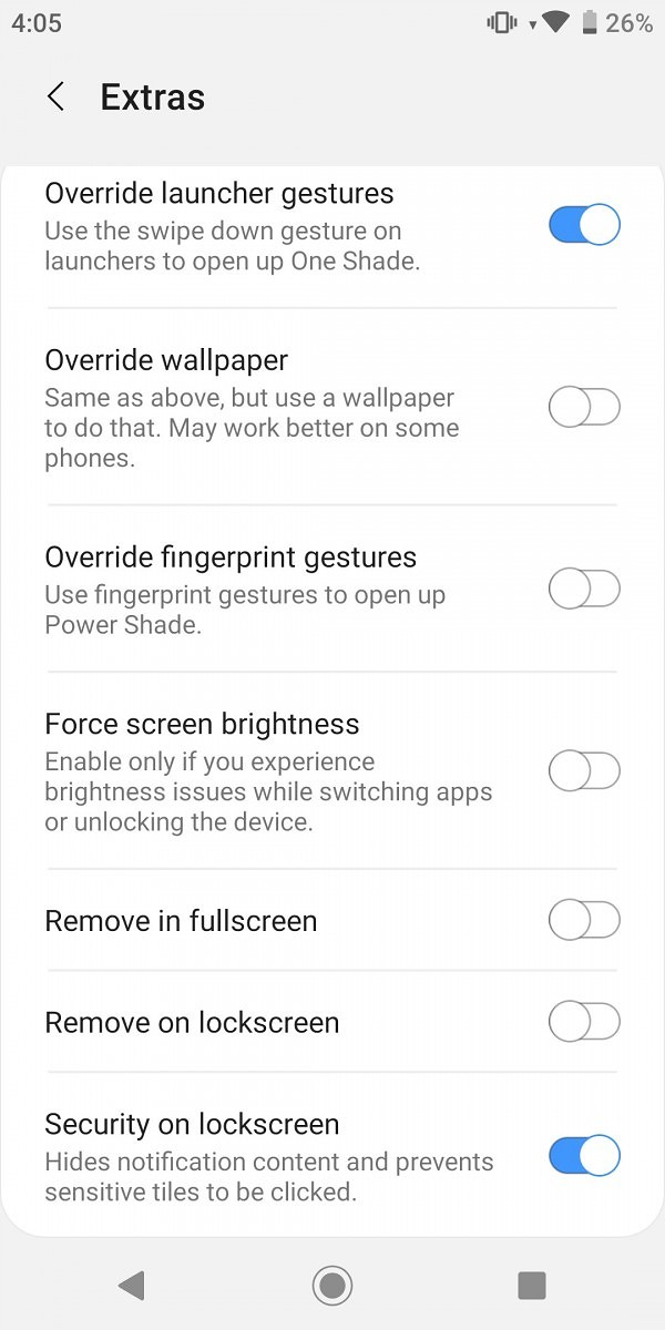 One Shade Themes Your Notification Panel To Be Like Samsung S One Ui