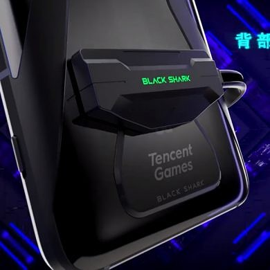 [Update: Mechanical gaming buttons] The Black Shark 3 gaming phone will have a magnetic charging port on the back, dual batteries, and 65W charging support