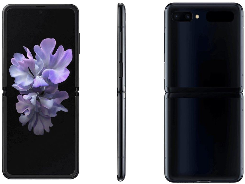 Samsung Galaxy Z Flip in Mirror Black