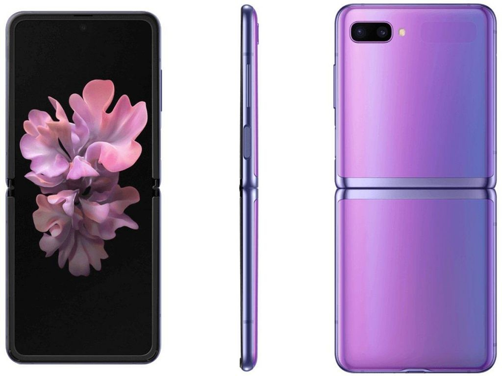 Samsung Galaxy Z Flip in Mirror Purple