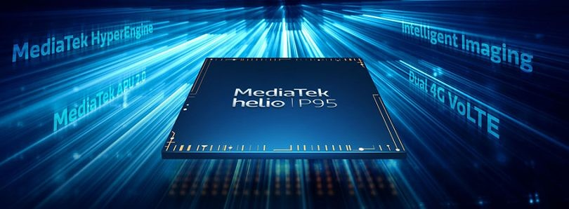 MediaTek announces the Helio P95 SoC with APU 2.0 AI accelerator, HyperEngine game technology, and more